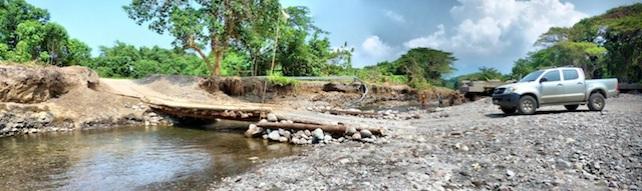 Last Major Bridge before Visale