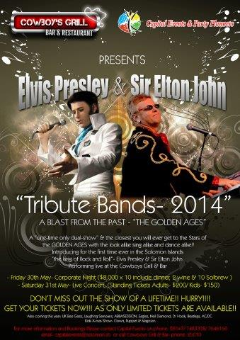 Elvis and Elton Poster 2