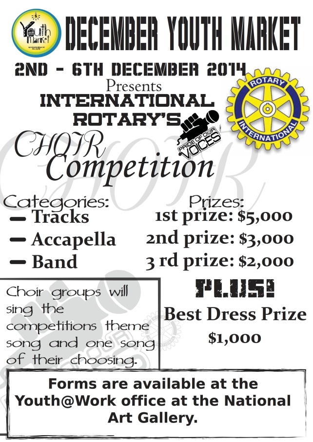 choir comp poster
