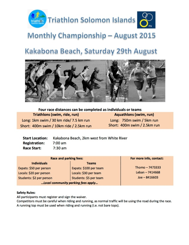 2015 Monthly Championship Aug
