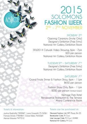 Fashion Week Events